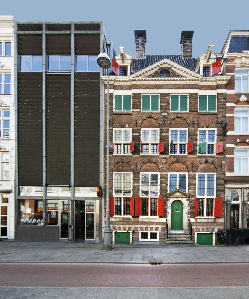 Frontansicht Museum Het Rembrandthuis in Amsterdam