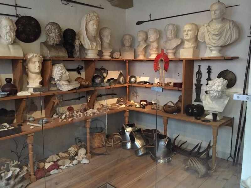 Rembrandts Kabinett im Museum Het Rembrandthuis in Amsterdam