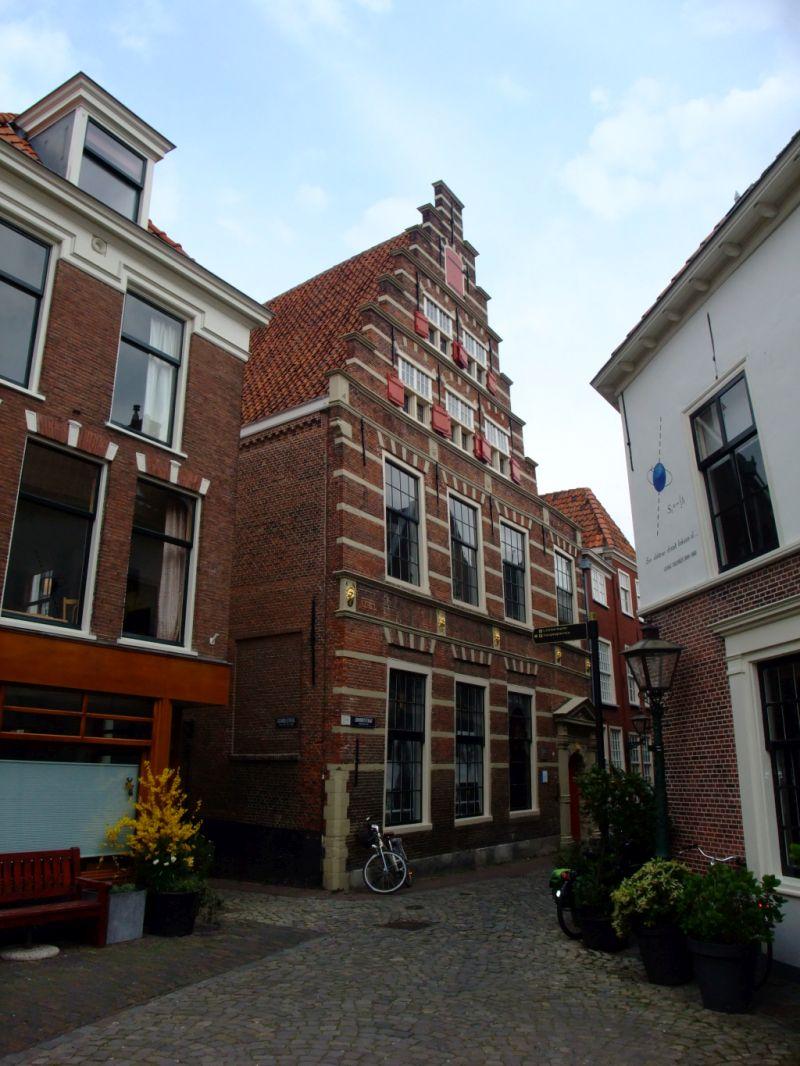 Die Calvinistische Lateinschule in Leiden