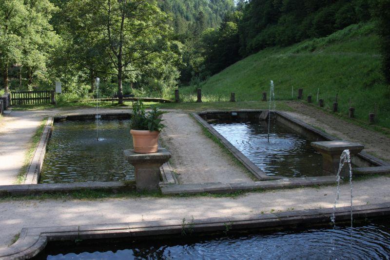 Klostergarten Abtei Allerheiligen im Schwarzwald